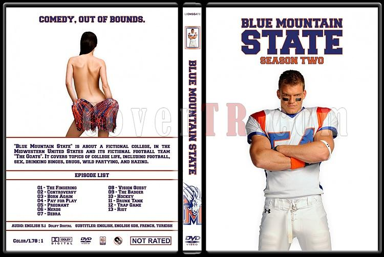 Blue Mountain State (Seasons 1-3) - Custom Dvd Cover Set - English [2010-2011]-blue-mountain-state-season-2-custom-dvd-cover-ctrjpg