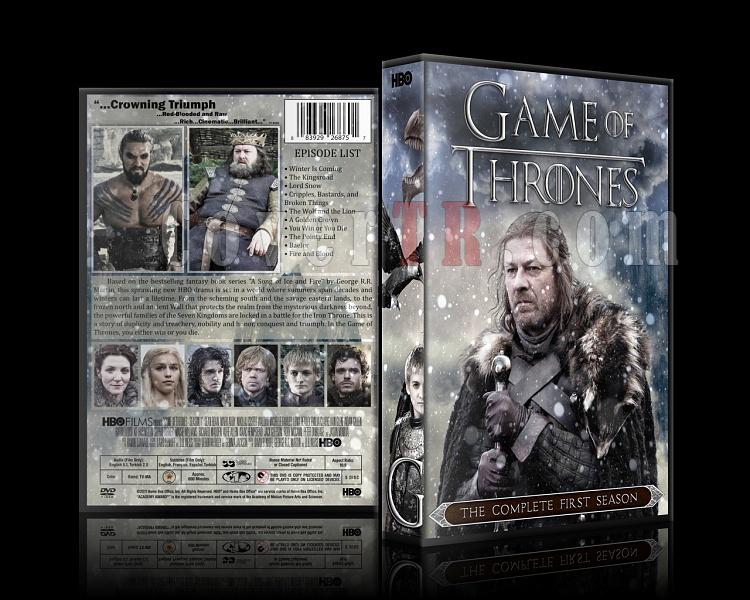Game of Thrones (Season 1-6) - Custom Dvd Cover Set - English [2011-?]-1jpg
