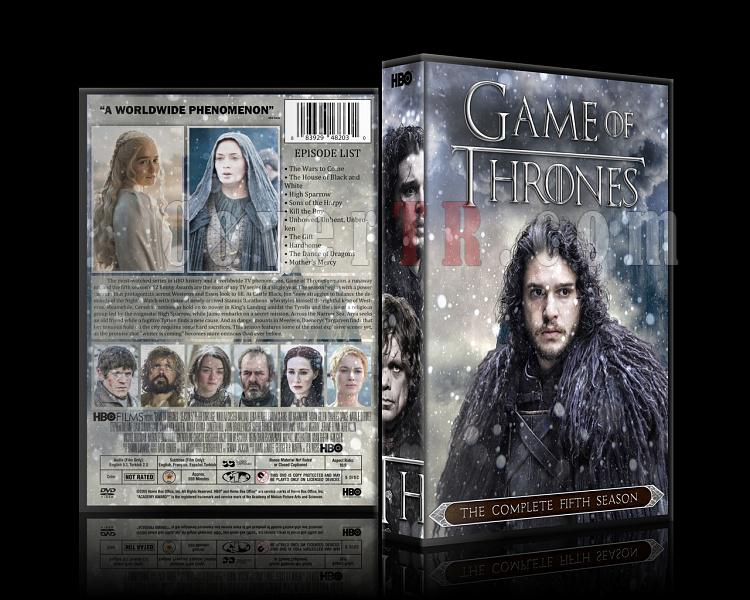 Game of Thrones (Season 1-6) - Custom Dvd Cover Set - English [2011-?]-5jpg