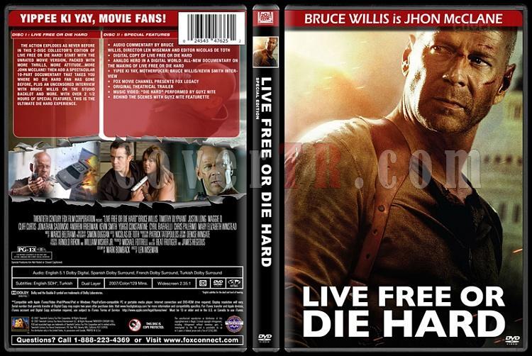Die Hard Series (Zor Ölüm Serisi) - Custom Dvd Cover Set - English [1988-2013]-4jpg