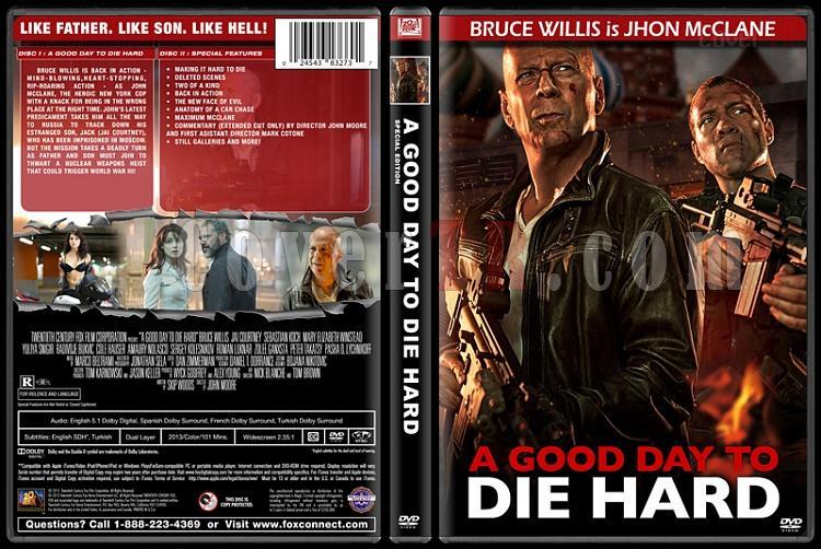 Die Hard Series (Zor Ölüm Serisi) - Custom Dvd Cover Set - English [1988-2013]-5jpg