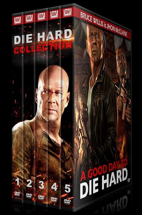 Die Hard Series (Zor Ölüm Serisi) - Custom Dvd Cover Set - English [1988-2013]-0jpg