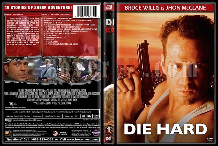 Die Hard Series (Zor Ölüm Serisi) - Custom Dvd Cover Set - English [1988-2013]-1jpg