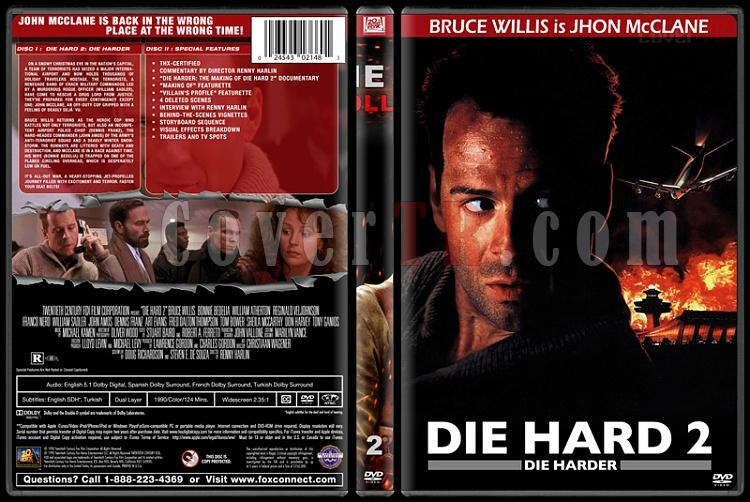 Die Hard Series (Zor Ölüm Serisi) - Custom Dvd Cover Set - English [1988-2013]-2jpg