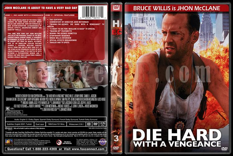 Die Hard Series (Zor Ölüm Serisi) - Custom Dvd Cover Set - English [1988-2013]-3jpg