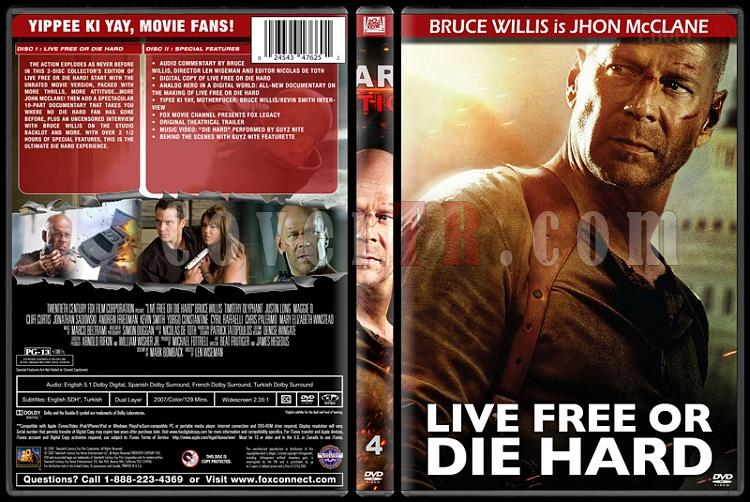 Die Hard Series (Zor Ölüm Serisi) - Custom Dvd Cover Set - English [1988-2013]-4jpg