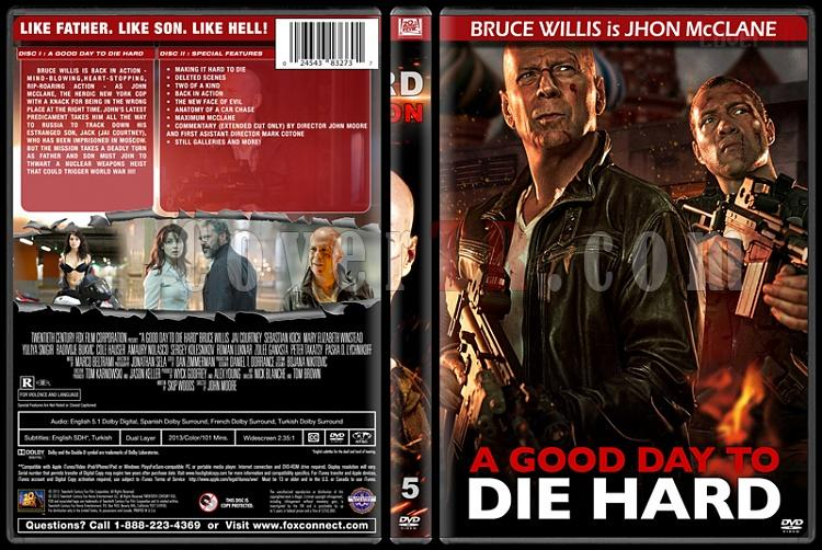Die Hard Series (Zor Ölüm Serisi) - Custom Dvd Cover Set - English [1988-2013]-5jpg
