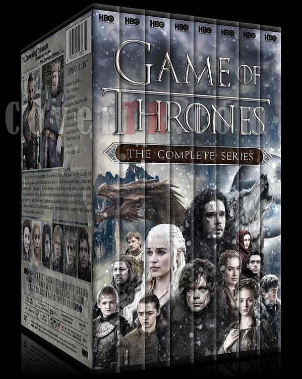 Game of Thrones (Season 1-6) - Custom Dvd Cover Set - English [2011-?]-0jpg
