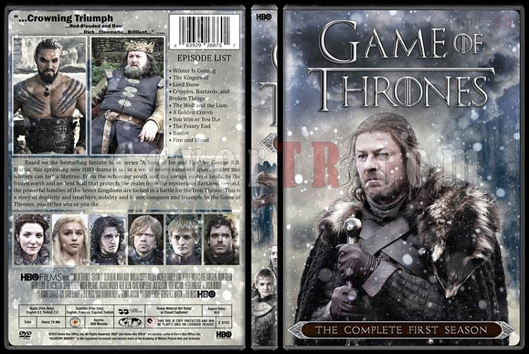 Game of Thrones (Season 1-6) - Custom Dvd Cover Set - English [2011-?]-1jpg