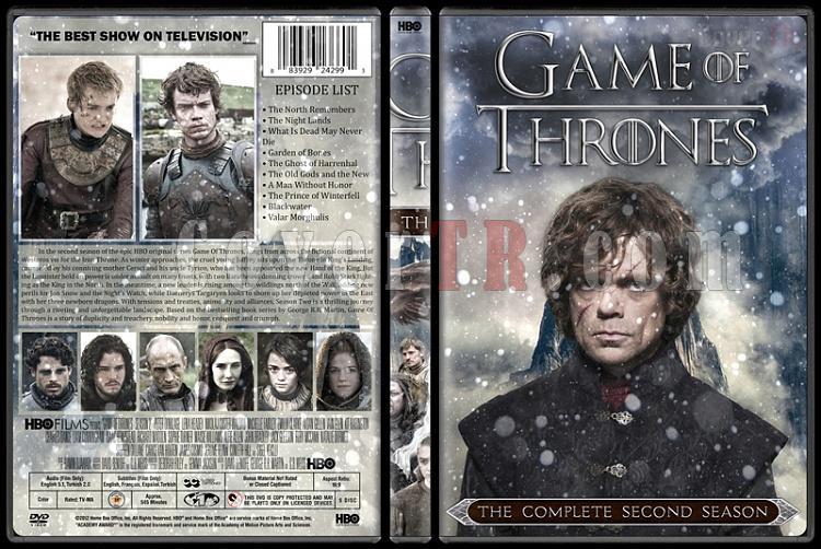 Game of Thrones (Season 1-6) - Custom Dvd Cover Set - English [2011-?]-2jpg