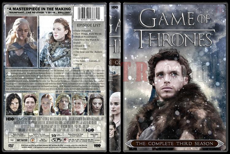Game of Thrones (Season 1-6) - Custom Dvd Cover Set - English [2011-?]-3jpg