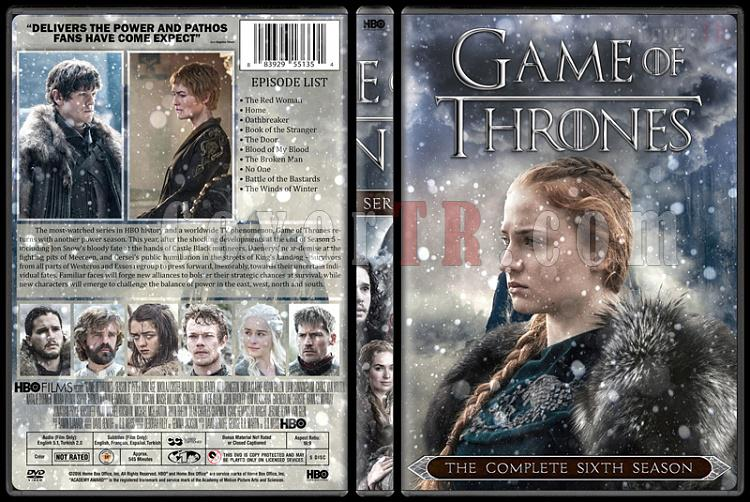 Game of Thrones (Season 1-6) - Custom Dvd Cover Set - English [2011-?]-6jpg
