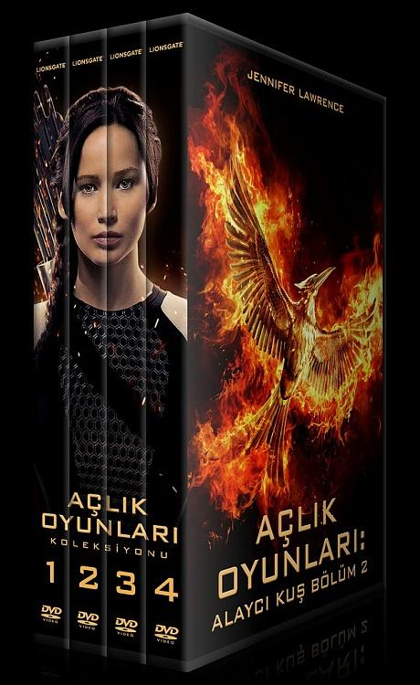 The Hunger Games Series (Açlık Oyunları Serisi) - Custom Dvd Cover Set [2012-2015]-previewjpg