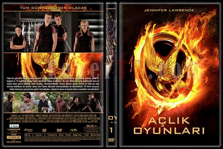 The Hunger Games Series (Açlık Oyunları Serisi) - Custom Dvd Cover Set [2012-2015]-1jpg