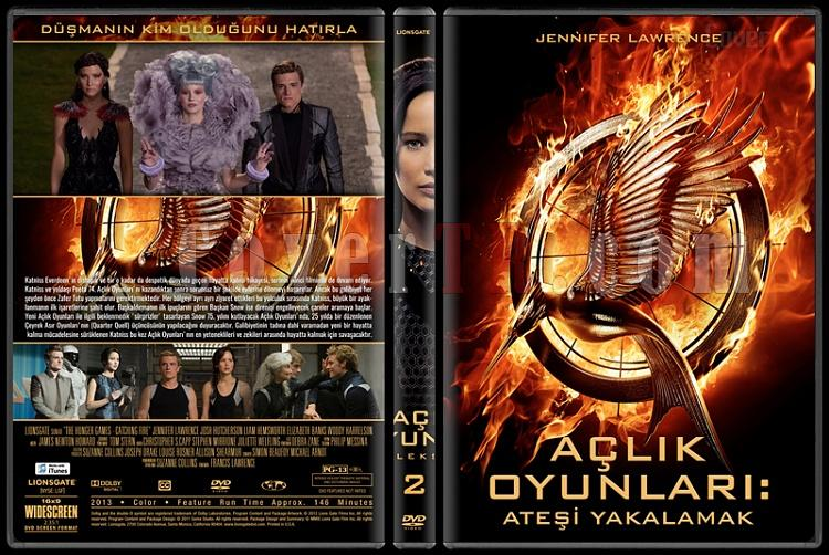 The Hunger Games Series (Açlık Oyunları Serisi) - Custom Dvd Cover Set [2012-2015]-2jpg