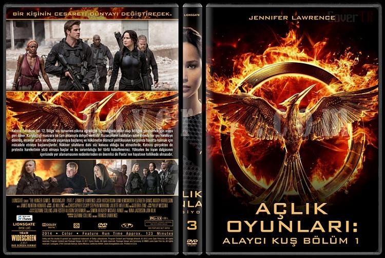 The Hunger Games Series (Açlık Oyunları Serisi) - Custom Dvd Cover Set [2012-2015]-3jpg