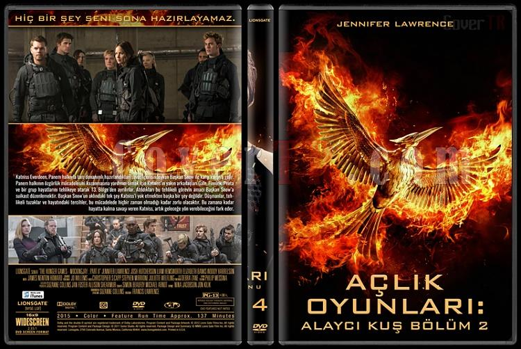 The Hunger Games Series (Açlık Oyunları Serisi) - Custom Dvd Cover Set [2012-2015]-4jpg