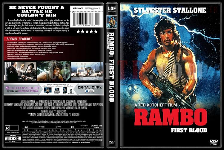 Rambo Collection - Custom Dvd Cover Set - English [1982-2008]-1jpg