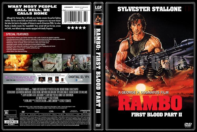 Rambo Collection - Custom Dvd Cover Set - English [1982-2008]-2jpg