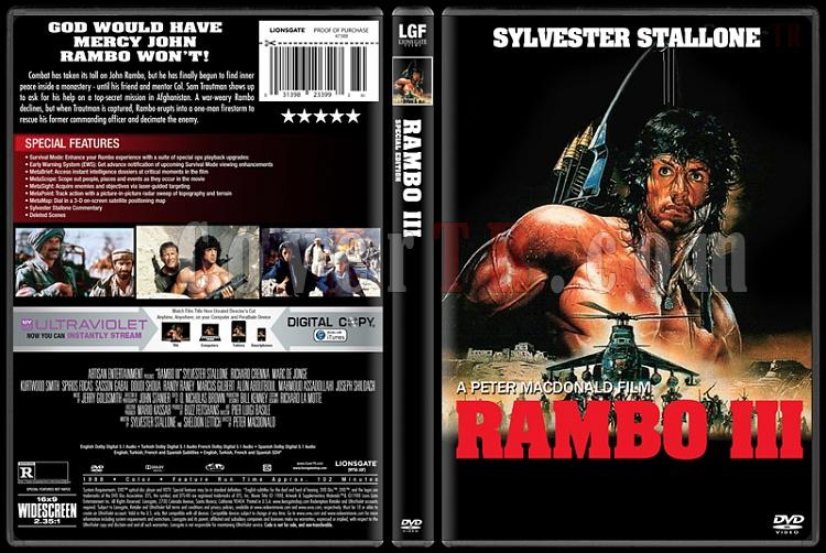 Rambo Collection - Custom Dvd Cover Set - English [1982 ...