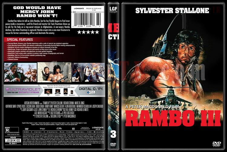 Rambo Collection - Custom Dvd Cover Set - English [1982-2008]-3jpg