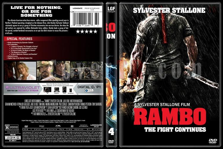 Rambo Collection - Custom Dvd Cover Set - English [1982-2008]-4jpg