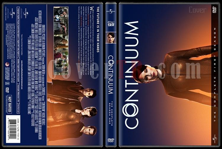 Continuum  (Seasons 1-4) - Custom Dvd Cover Set - English [2012-2015]-1jpg