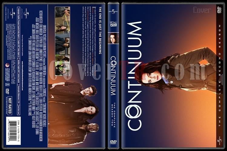 Continuum  (Seasons 1-4) - Custom Dvd Cover Set - English [2012-2015]-2jpg