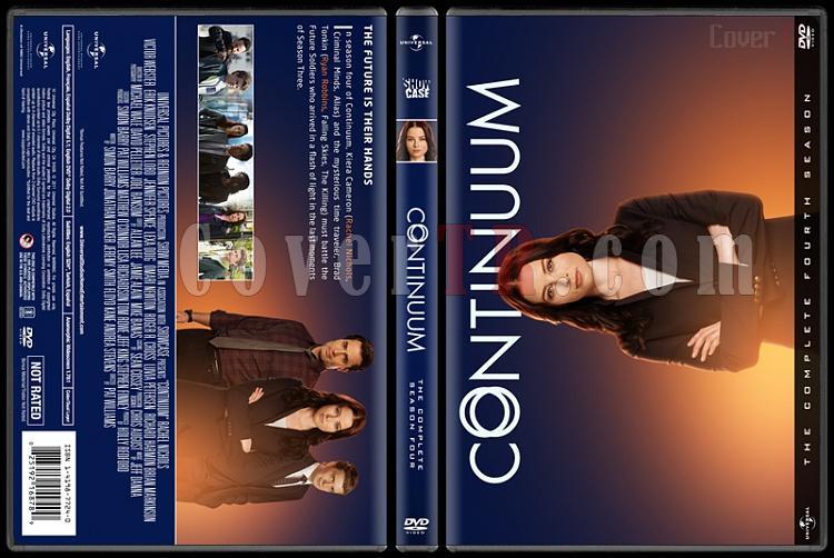 Continuum  (Seasons 1-4) - Custom Dvd Cover Set - English [2012-2015]-4jpg
