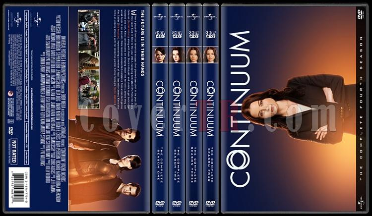 Continuum  (Seasons 1-4) - Custom Dvd Cover Set - English [2012-2015]-preview-2jpg