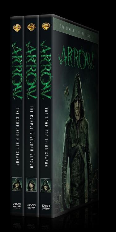 Arrow (Seasons 1-3) - Custom Dvd Cover Set - English [2012-?]-arrow-alljpg