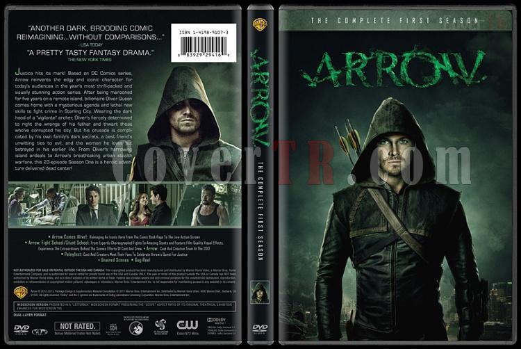 Arrow (Seasons 1-3) - Custom Dvd Cover Set - English [2012-?]-1jpg