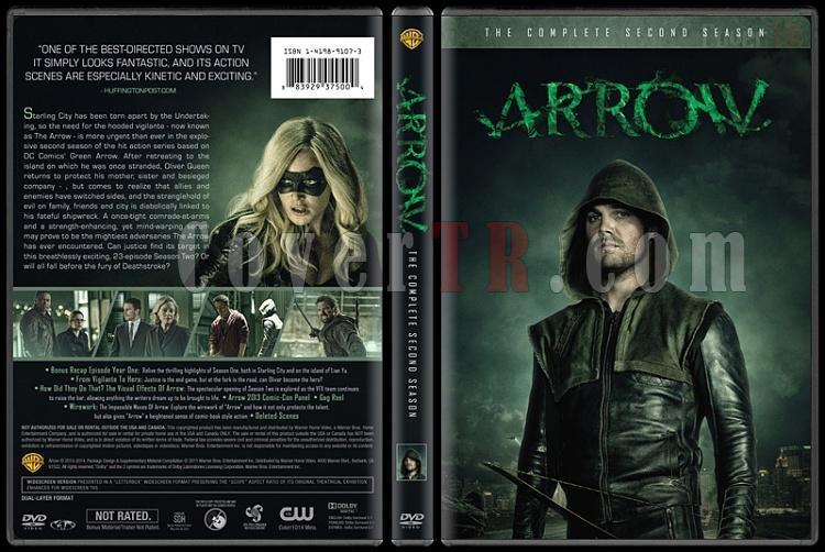 Arrow (Seasons 1-3) - Custom Dvd Cover Set - English [2012-?]-2jpg