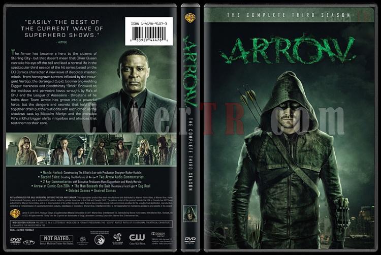 Arrow (Seasons 1-3) - Custom Dvd Cover Set - English [2012-?]-3jpg