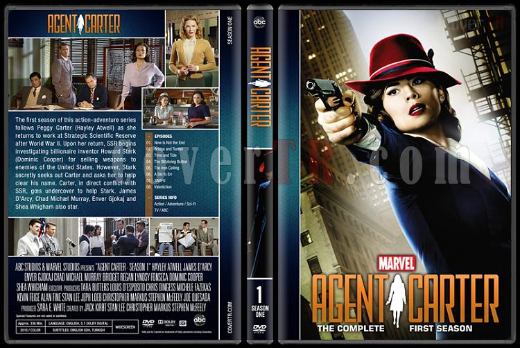 Agent Carter (Season 1-2) - Custom Dvd Cover - English [2015-2016]-agent-carter-season-1jpg
