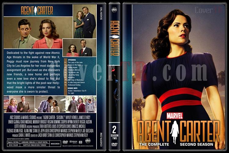 Agent Carter (Season 1-2) - Custom Dvd Cover - English [2015-2016]-agent-carter-season-2jpg