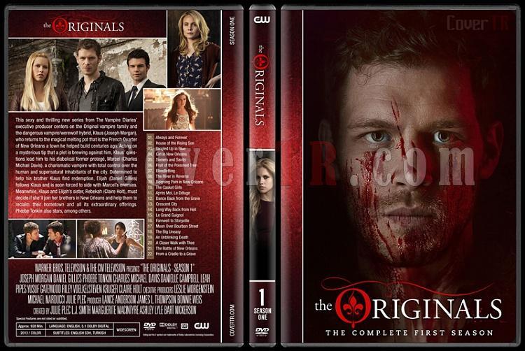 The Originals (Seasons 1-3) - Custom Dvd Cover Set - English [2013-?]-originals-s01jpg