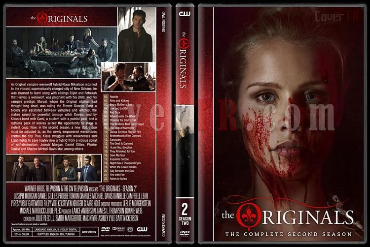 The Originals (Seasons 1-3) - Custom Dvd Cover Set - English [2013-?]-originals-s02jpg