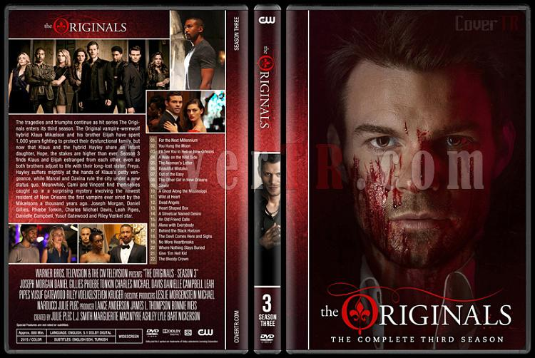 The Originals (Seasons 1-3) - Custom Dvd Cover Set - English [2013-?]-originals-s03jpg