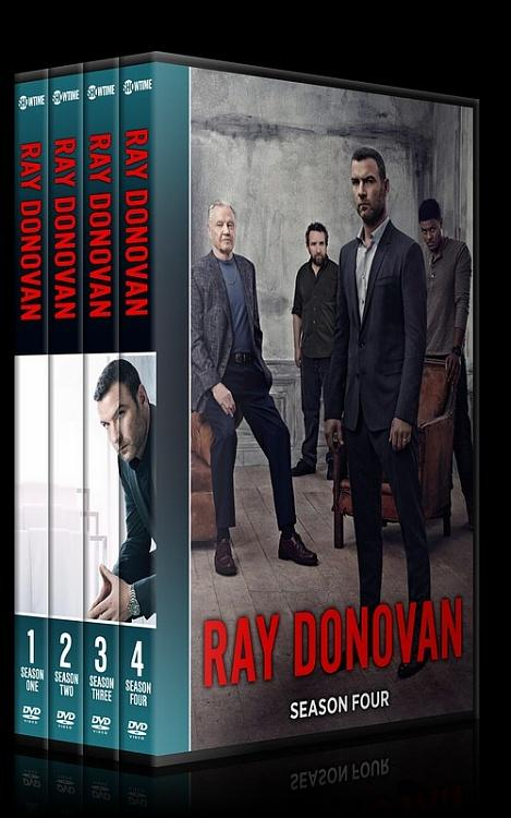 Ray Donovan (Seasons 1-4) - Custom Dvd Cover Set - English [2013-?]-all2jpg