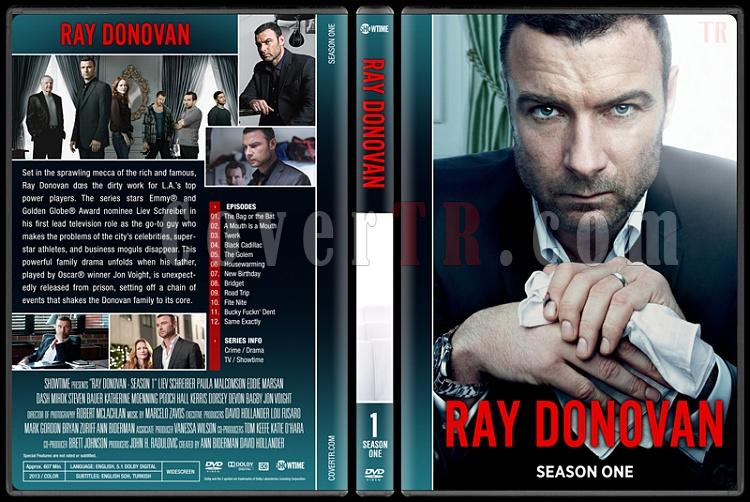 Ray Donovan (Seasons 1-4) - Custom Dvd Cover Set - English [2013-?]-1jpg