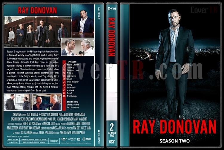 Ray Donovan (Seasons 1-4) - Custom Dvd Cover Set - English [2013-?]-2jpg