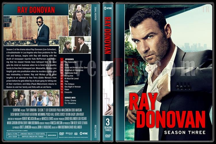 Ray Donovan (Seasons 1-4) - Custom Dvd Cover Set - English [2013-?]-3jpg