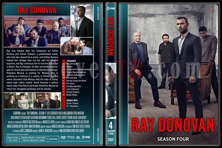 Ray Donovan (Seasons 1-4) - Custom Dvd Cover Set - English [2013-?]-4jpg