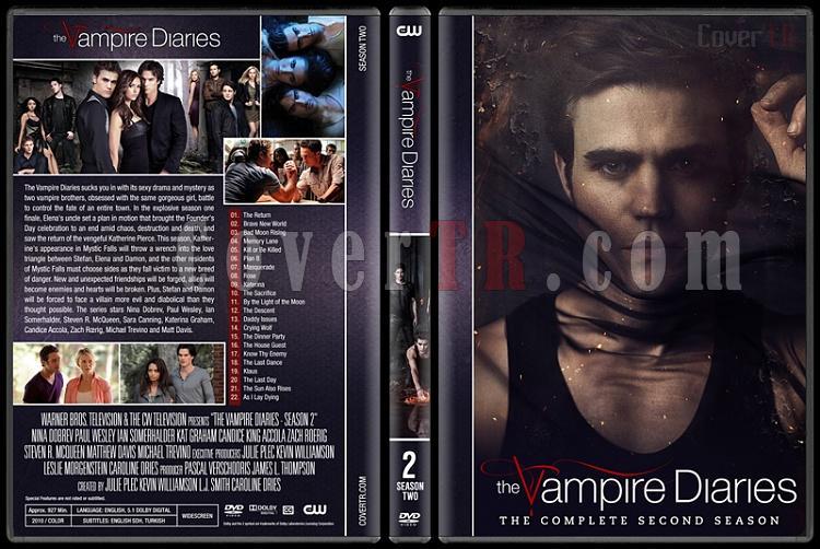 The Vampire Diaries (Seasons 1-8) - Custom Dvd Cover Set - English [2009-2017]-2jpg