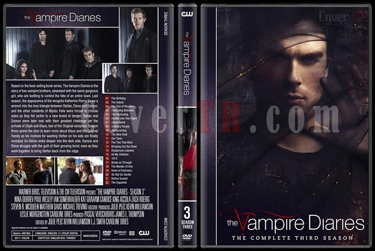 The Vampire Diaries (Seasons 1-8) - Custom Dvd Cover Set - English [2009-2017]-3jpg
