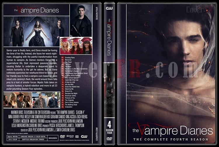 The Vampire Diaries (Seasons 1-8) - Custom Dvd Cover Set - English [2009-2017]-4jpg