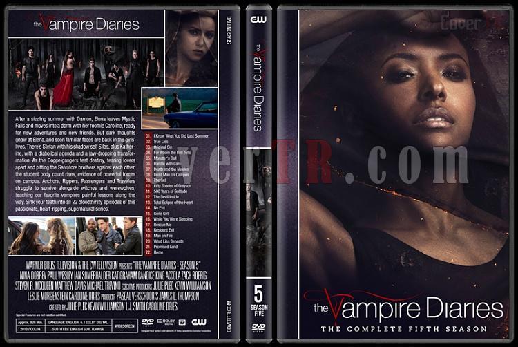 The Vampire Diaries (Seasons 1-8) - Custom Dvd Cover Set - English [2009-2017]-5jpg