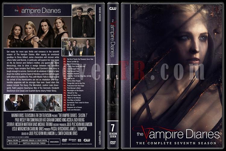 The Vampire Diaries (Seasons 1-8) - Custom Dvd Cover Set - English [2009-2017]-7jpg