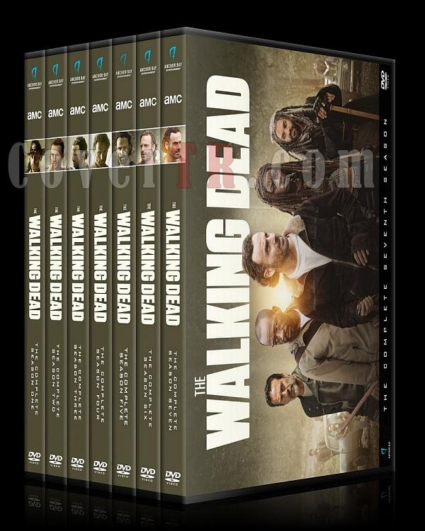The Walking Dead  (Seasons 1-7) - Custom Dvd Cover Set - English [2010-?]-alljpg